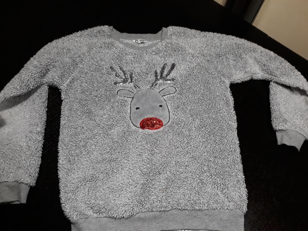 Bluza, sweterek   146/152 Cubus renifer