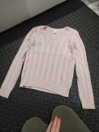 Sweterek jodełka h&m s m l