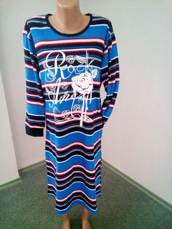 Домашний халат - платье,туника хлопок Узбекистан