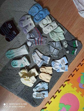 Набор носочков носков до года для малышей