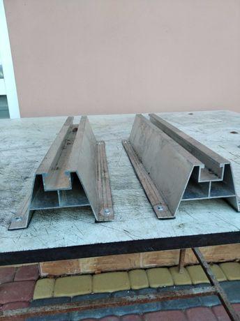Mostek trapezowy, uchwyt, profil 40/330 + klemy końcowe