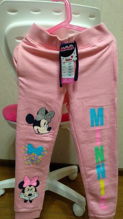 Тёплые штаны Disney Pepco 122 размер Дзюбы - изображение 1