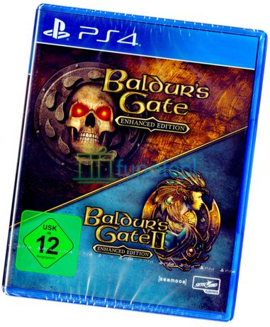 Baldur's Gate Enhanced Edition PS4 NOWA + DODATEK