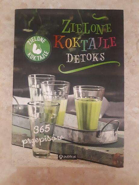 Zielone koktajle detoks 365 przepisów na prezent