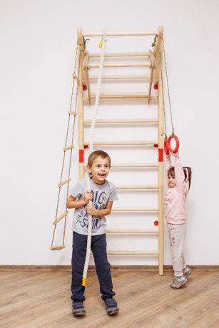 Drabinka gimnastyczna / Drewniana drabinka gimnastyczna dla dzieci