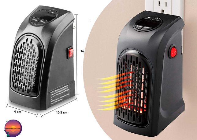 Портативный мини электрообогреватель, тепловентилятор Handy Heater