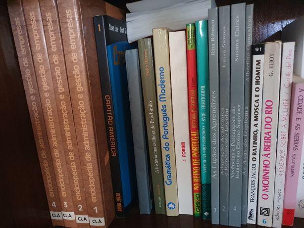 Livros variados 2ª mão
