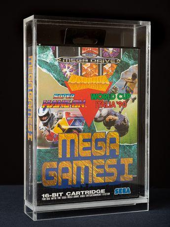 Caixas em acrilico para jogos Sega Mega Drive
