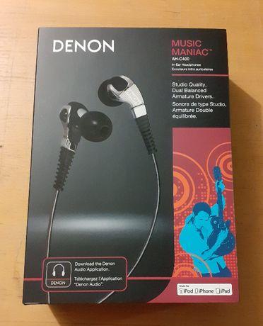 Denon AH-C400 Music Maniac Słuchawki dokanałowe Audiofilskie
