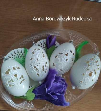 Pisanki gęsie wydmuszki ,jajka Wielkanocne