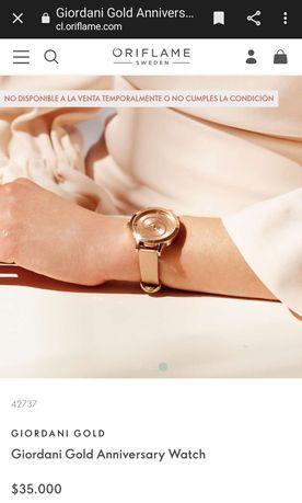 Наручний годинник Oriflame Reloj Giordani Gold