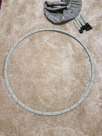 Części do trampoliny 96cm osłona na sprężyny stelaż nogi