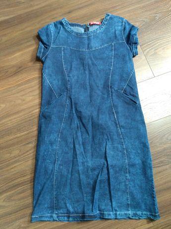Sprzedam nowa sukienkę jeansowa,rozmiar S