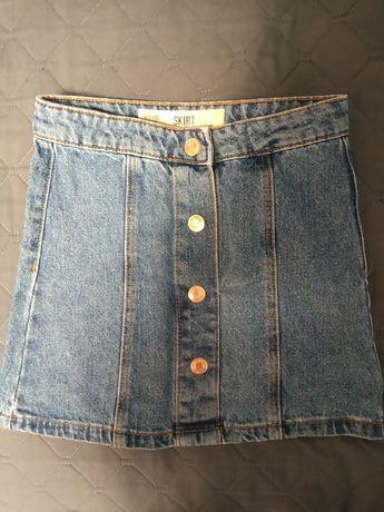 Spódnica jeansowa dla dziewczynki rozmiar 122 NOWA