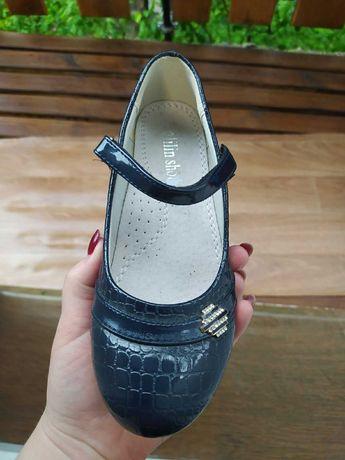 Нові  сині туфлі
