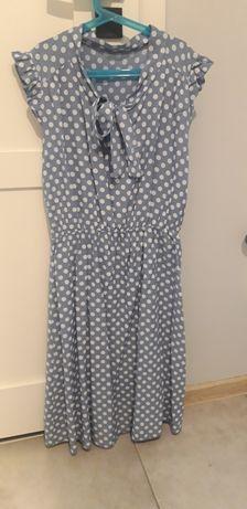Sukienka w grochy 36