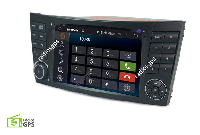 Auto Rádio GPS Multimédia Mercedes Class E W209 W219 W211 - Android 10