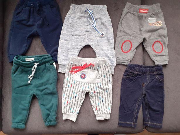 Spodnie niemowlęce r. 62