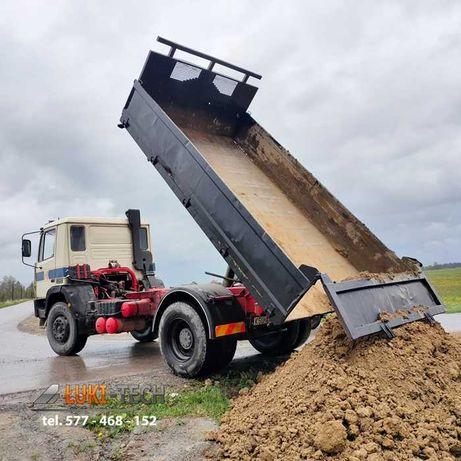Wywóz kamienia ziemi gruzu WYWROTKA usługi ziemne transport