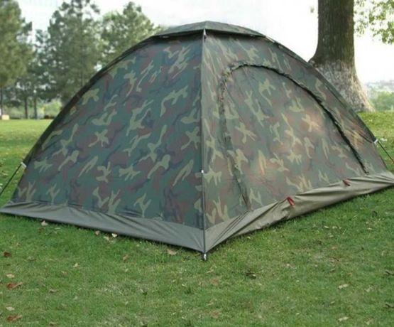 Палатка чотиримісна 2 х 2,5 м, колір Хакі