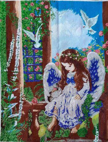Вишита картина Ангелок
