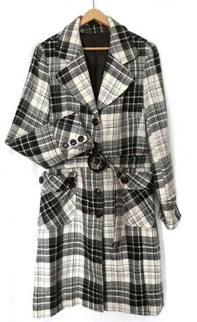 Płaszcz z wełną - Top Secret (XL)