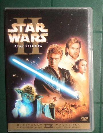 Star Wars Gwiezdne Wojny Atak Klonów 2 DVD, jak nowe