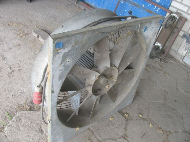 wentylator wyciągowy osiowy kanałowy ocynkowany