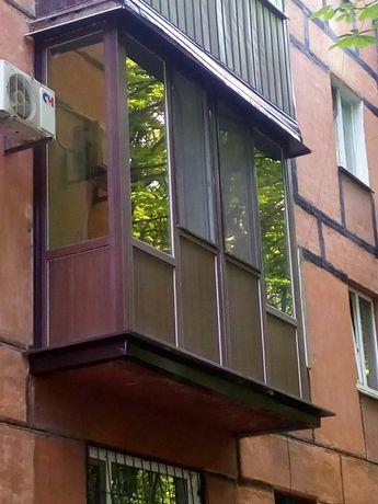 Заказ и установка металлопластиковых окон, дверей и балконов.