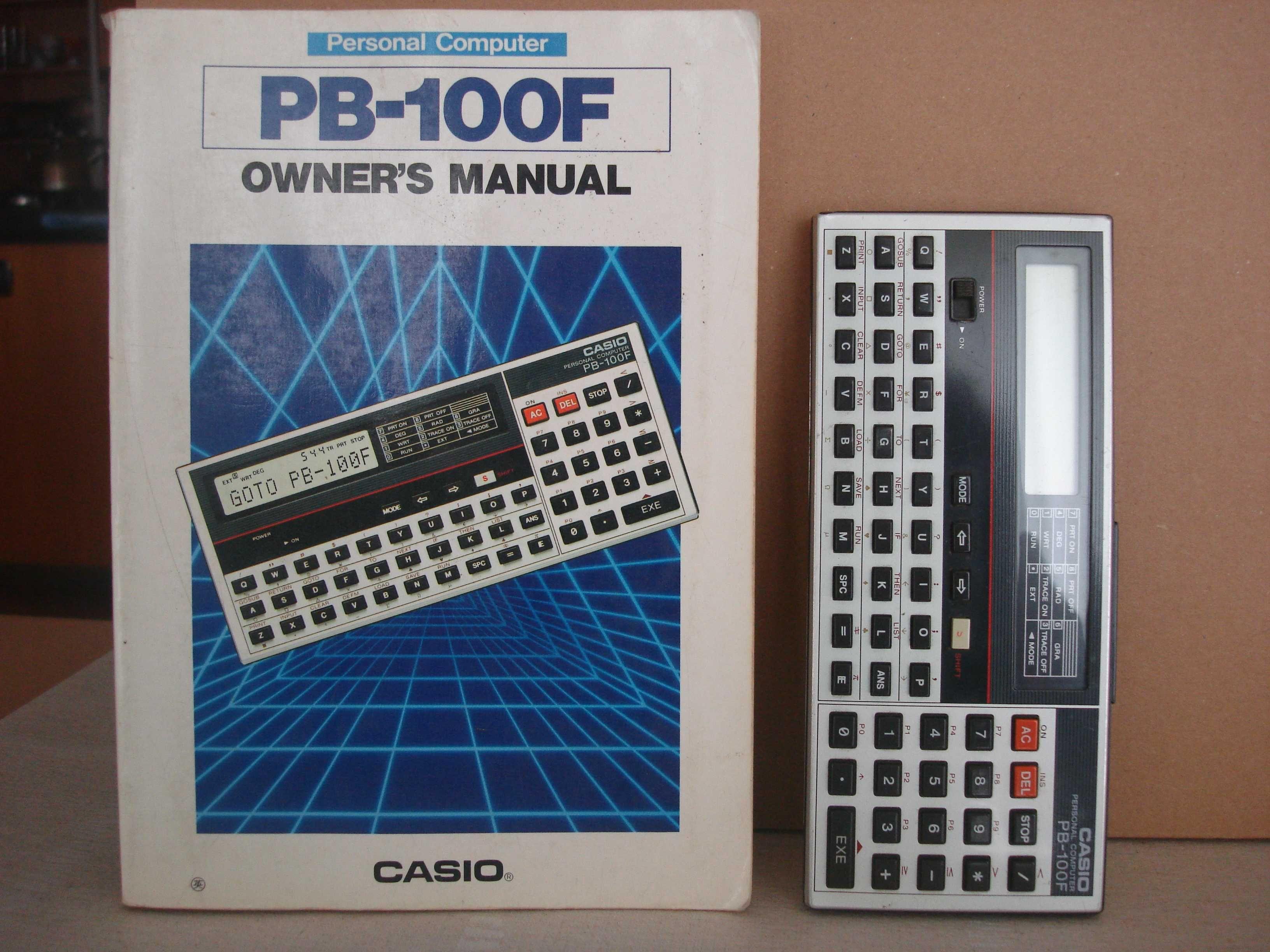 Casio PB 100F - Maquina de calcular