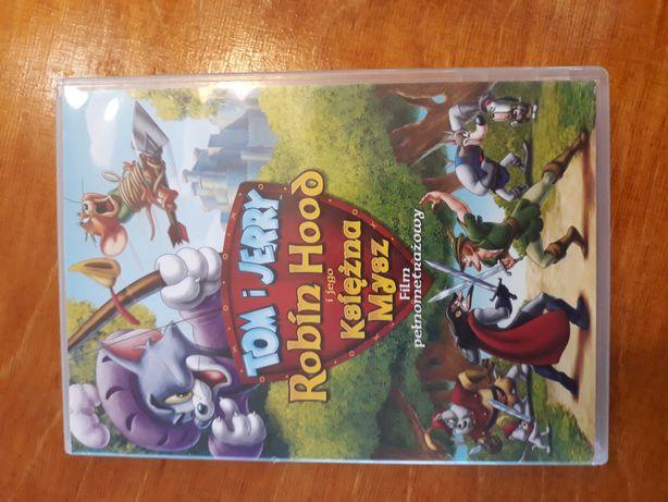 Bajka DVD Tom i Jerry Robin Hood