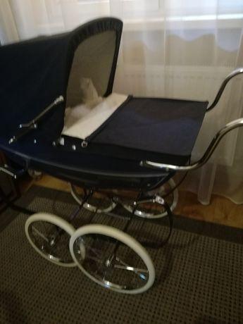 Wózek do lalki silver cross stan idealny lalka retro antyk
