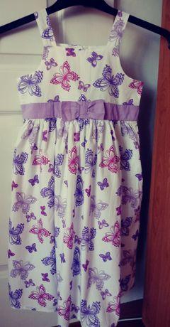 Letnia nowa sukienka 134
