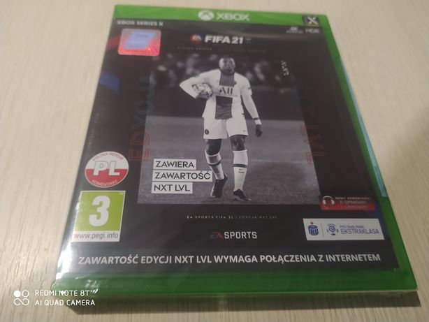 Fifa 21 nxt level xbox series x po polsku nowa/folia