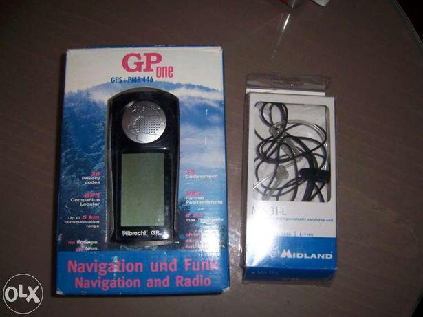 Radio cb pmr + gps com auricular vendo ou troco