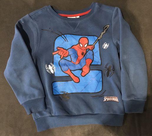 Bluza chłopięca Spiderman 116cm. Stan idealny. OKAZJA!