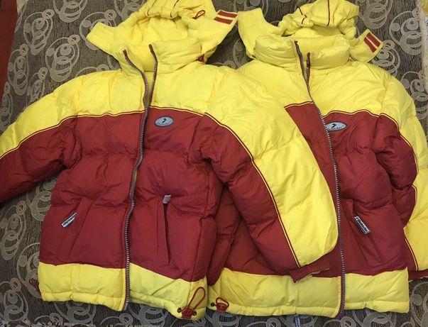 Куртка зимова на потрійному синтепоні