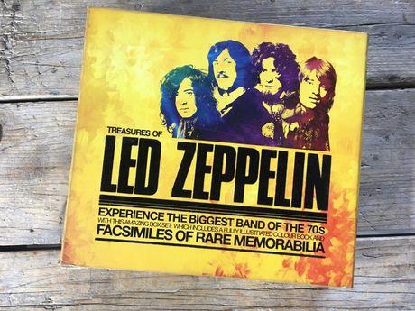 Treasures of Led Zeppelin książka pierwsze wydanie