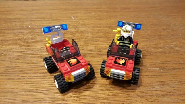 Lego city straż pożarna +zapasowe części
