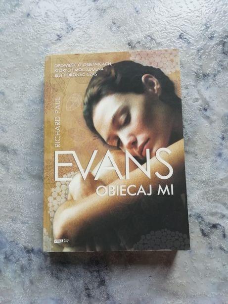 Książka Obiecaj mi – R.P.Evans