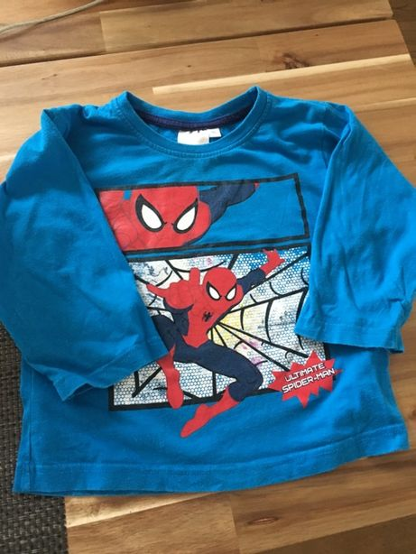 Koszulka spider man niebieska 92cm
