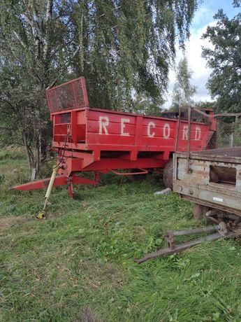 Rozrzutnik obornika 8 ton