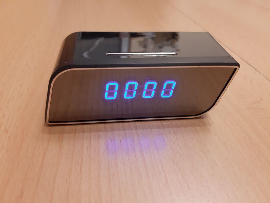 Ukryta Kamera w zegarku Budziku Full HD zegarze szpiegowska Wi-Fi wifi Płock - image 1