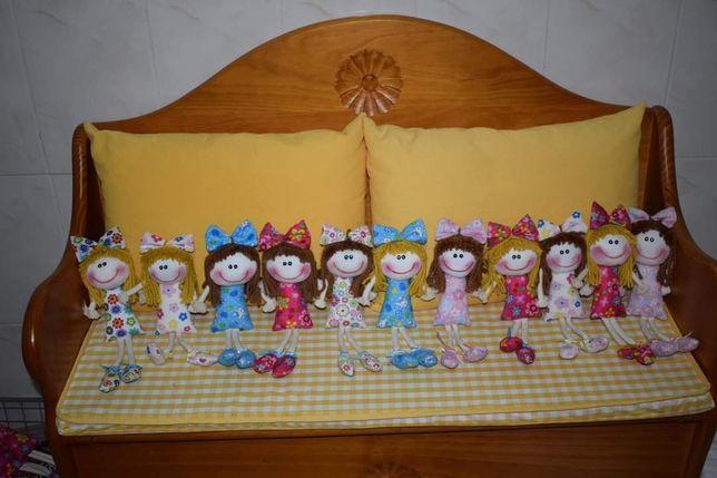 Bonecas de Pano - tamanho pequeno