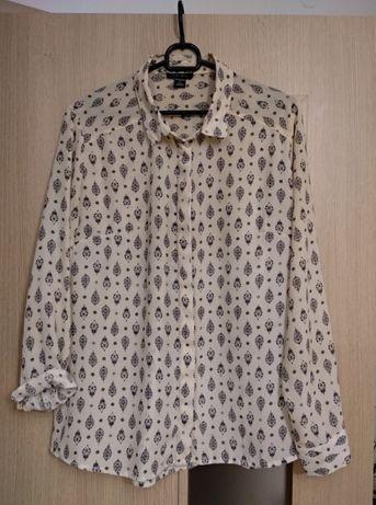 Kremowa koszula - rozmiar S