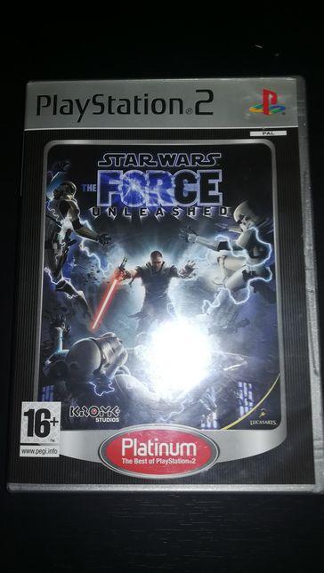 Jogo PS2 ( PlayStation 2 ) Star Wars The Force Unleashed (Opt. Estado)