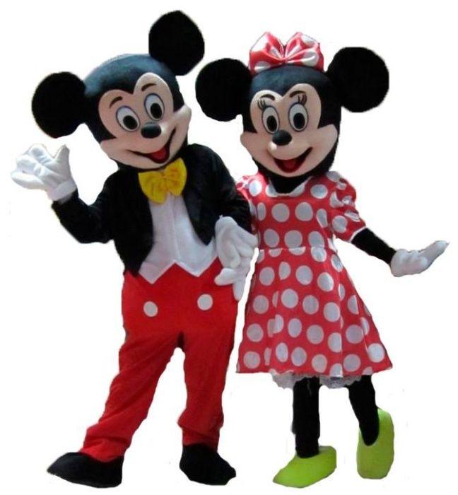 Mascotes do Mickey e da Minnie (novas)