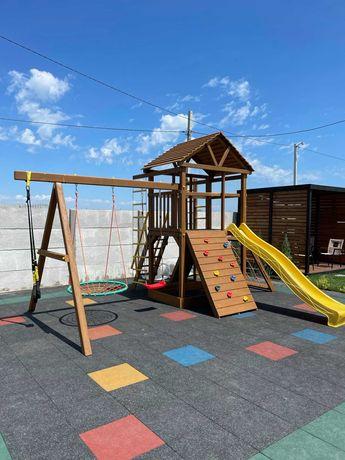 Дитячий майданчик (Детская площадка) WOODEN TOWN № 7