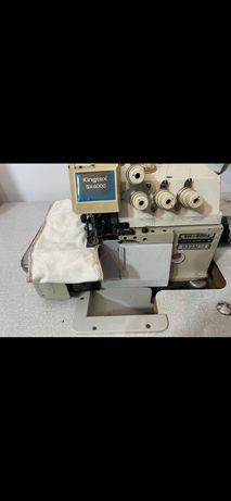 Máquina Industrial - Corte e cose Kingtex SH6000