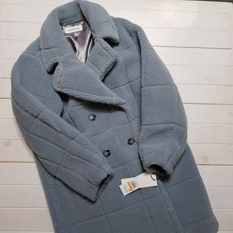Шуба- пальто Calvin Klein,  acne,  pinko.  Размер с